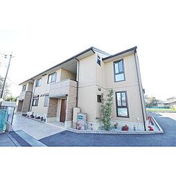 埼玉県川越市小室の賃貸アパートの外観