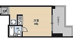 朝日プラザ新大阪[10階]の間取り