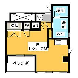 桜ヒルズ[7階]の間取り