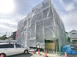 神奈川県厚木市酒井の賃貸アパートの外観