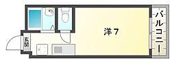 ソシオカマクラ[2階]の間取り