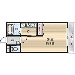 ビアンヌール芥川[1階]の間取り