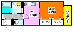 グレイス・奥林A棟 201号室[2階]の間取り