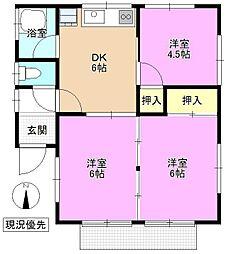 [一戸建] 長野県長野市篠ノ井御幣川 の賃貸【/】の間取り