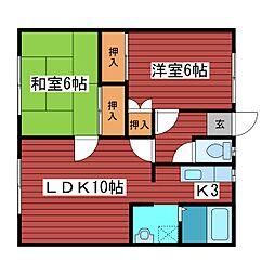 アソートハウス[3階]の間取り