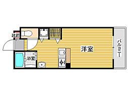 ハーモニーハウス別府[3階]の間取り