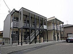愛知県名古屋市中川区牛立町2丁目の賃貸アパートの外観