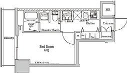 ラフィスタ大師前III[6階]の間取り