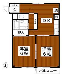 高橋ビル[3階]の間取り