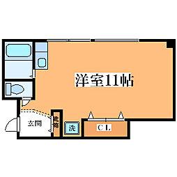 レガート姫島[301号室]の間取り
