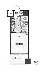 ドゥーエ新川[11階]の間取り