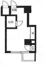 TY BUILDING[D304号室]の間取り