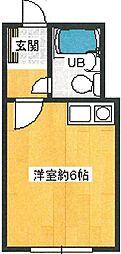 大門プラザ ドゥ フェアー[1階]の間取り