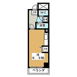 アーバンドエル新栄[9階]の間取り