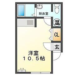 M97[1階]の間取り