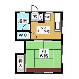 富士見ヶ丘駅 6.0万円