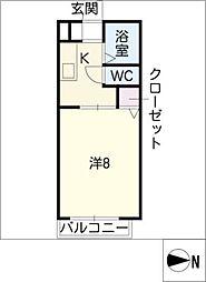 ひまわり館 Sunami[1階]の間取り