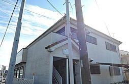 東京都町田市大蔵町の賃貸アパートの外観