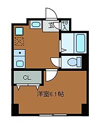 イルマーレK[1階]の間取り