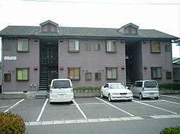 滋賀県湖南市中央5丁目の賃貸アパートの外観