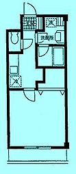 クレールメゾンA[2階]の間取り