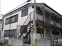千葉県船橋市本中山3丁目の賃貸アパートの外観