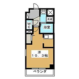 スワンズ京都二条城北[5階]の間取り