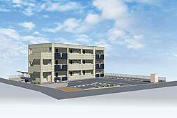 三反田町新築マンション(仮[1階]の外観