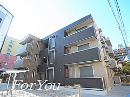 兵庫県神戸市灘区灘北通8丁目の賃貸アパートの外観
