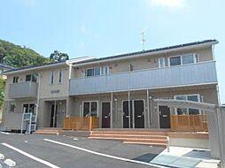 長野県長野市上松2丁目の賃貸アパートの外観