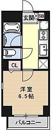 アスヴェル京都東寺前II[308号室号室]の間取り