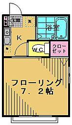 アーリア府中B棟[1階]の間取り