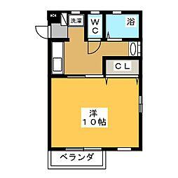 エクセル太平[1階]の間取り