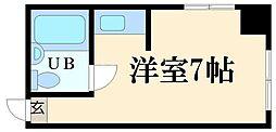 ラパンジール京町堀[3階]の間取り