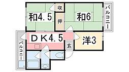 101マンション[307号室]の間取り