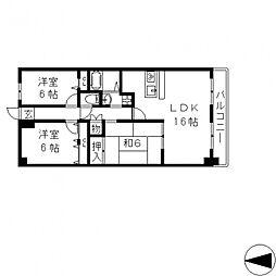 ブランチ913[303号室号室]の間取り