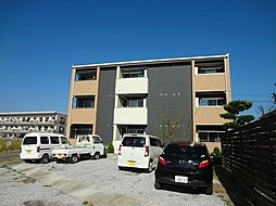 宮崎県宮崎市大字小松の賃貸アパートの外観