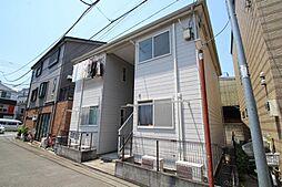 神奈川県川崎市中原区上丸子八幡町の賃貸アパートの外観