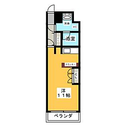ドゥーエ大須[11階]の間取り