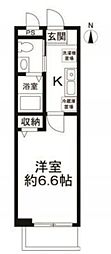 東京都品川区戸越6丁目の賃貸アパートの外観