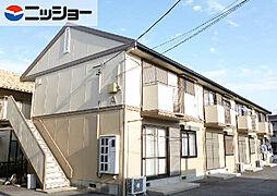 コーポイトウA棟[1階]の外観