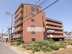 岐阜県岐阜市西鶉5丁目の賃貸マンションの外観
