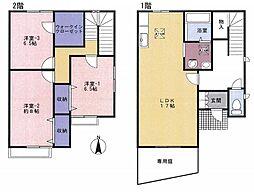 [タウンハウス] 東京都練馬区谷原6丁目 の賃貸【/】の間取り