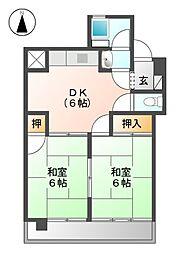 東ビル[4階]の間取り