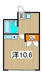 新田第1ビル[2階]の間取り