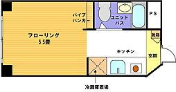 ヴェール横浜[218号室]の間取り