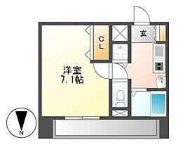 プレサンス覚王山D−StyleII[5階]の間取り