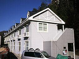 兵庫県川西市一庫3丁目の賃貸アパートの外観