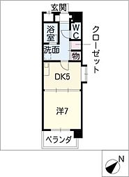 K'sガーデン[1階]の間取り