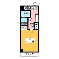 仮)富士永田町マンション[5階]の間取り